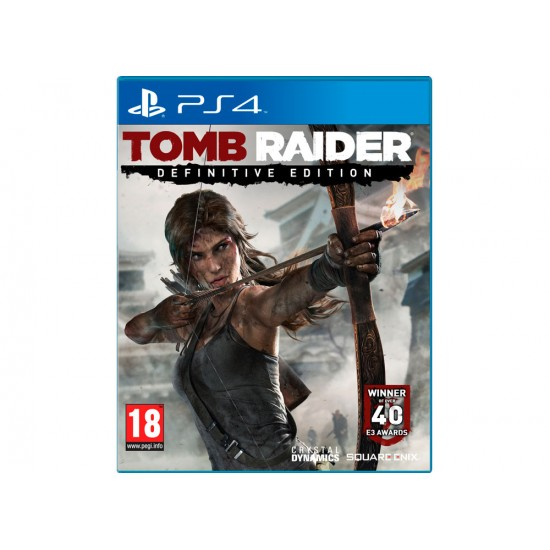 Tomb Raider: Definitive Edition- PS4 Game