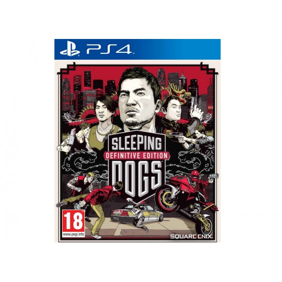 Sleeping Dogs Definitive Limited D1 Edition - PS4 Game