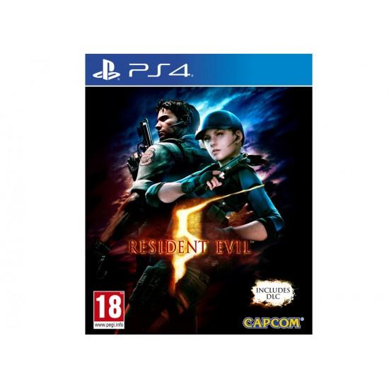 Resident Evil 5 - PS4 Game