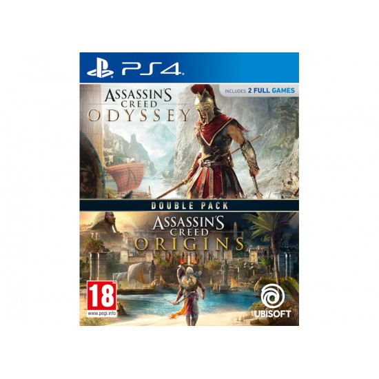 Compilation Assassin's Creed Origins & Odyssey - PS4 Game