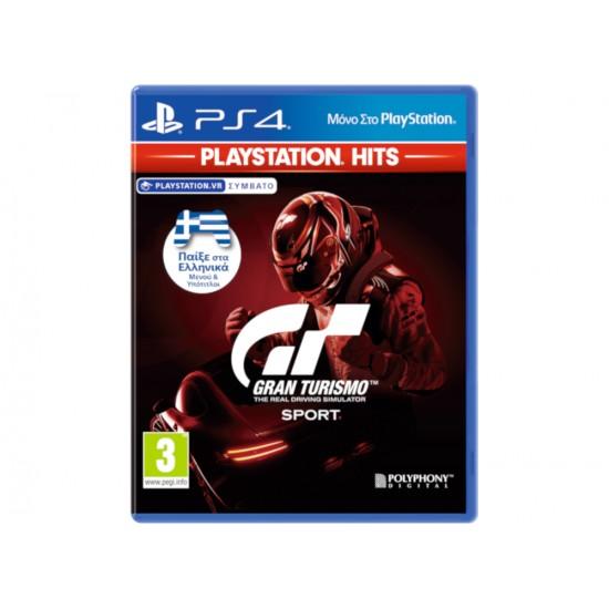 Gran Turismo Sport Playstation Hits - PS4 Game