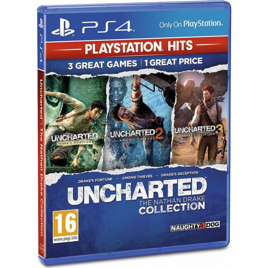 Uncharted Nathan Drake Collection - PS4 Game