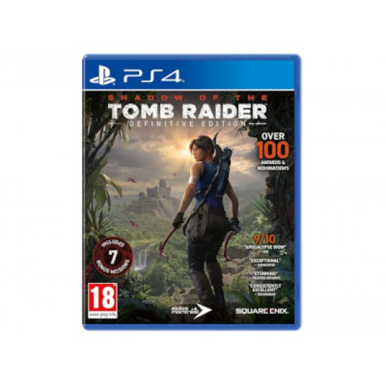 Shadow of the Tomb Raider Definitive Edition - PS4 Game