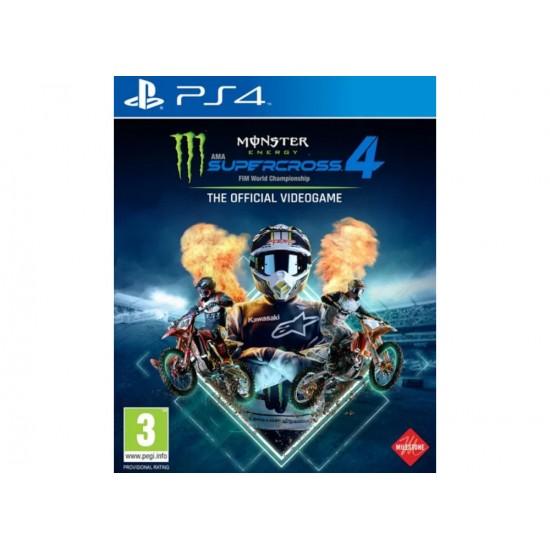 Monster Energy Supercross 4 - PS4 Game