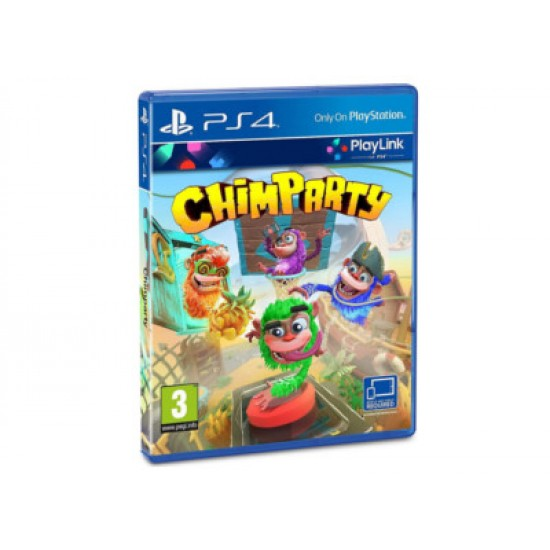 Chimparty - PS4 Game