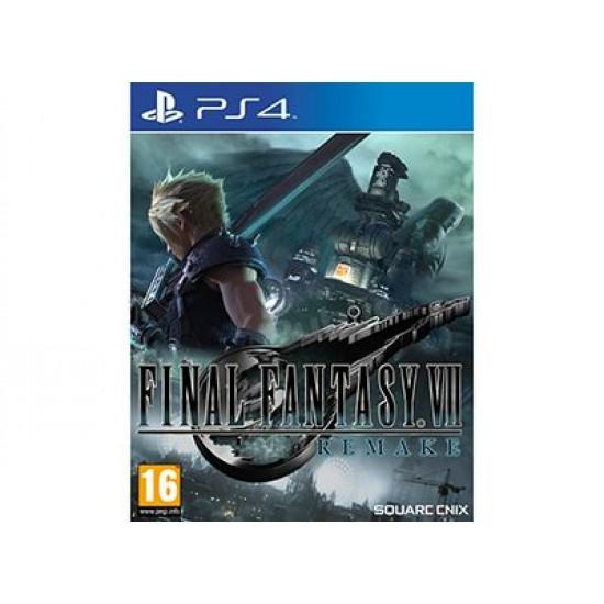 Final Fantasy VII Remake - PS4 Game
