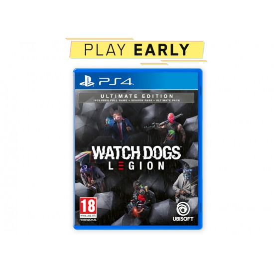 Watch Dogs Legion Ultimate Edition - PS4 Game