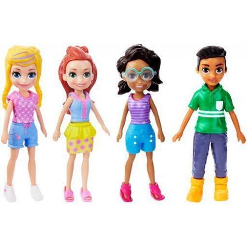 Mattel Polly Pocket κούκλα με αξεσουάρ σε διάφορα σχέδια (FWY19)