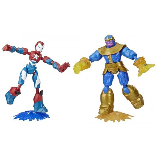 Hasbro Marvel Avengers Bend And Flex Dualpack (E9197)