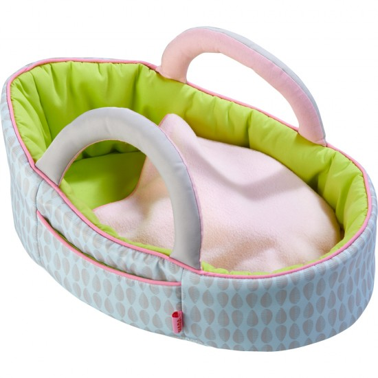 HABA Dolls Carrying Cot Apple green(305071)