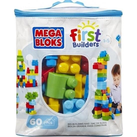 F.P. Mega Bloks Τουβλάκια-Τσάντα 60Τμχ (DCH55)